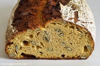 Sweet Potato-pumpkin Seeds-bread