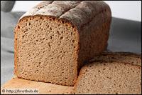 Roggen-Dinkel-Brot Als Kastenbrot