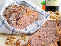 Red Wine And Walnut Loaf