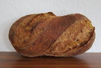Wildreis-Sauerteig-Brot