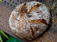 Onion-Cheese-Potato-Barley Bread