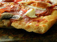 Higher Protein Pizza Crust