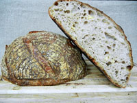 Parmesan Pepper Sourdough