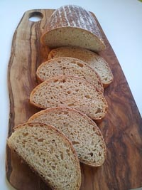 White Maize And Wheat Loaf