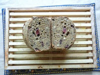 Chocolate Stout Sourdough W/ Cherries & Hazelnuts