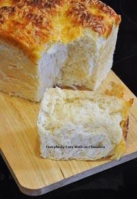 Tangzhong Ham & Cheese Loaf