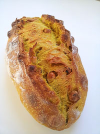 Turmeric Hazelnuts Sourdough