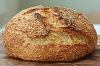 White Flour Warm-Spot Levain Bread