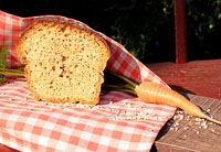 Bread With Barley Groats And Carrot