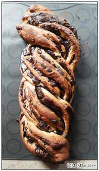 Chocolate Cinnamon Babka