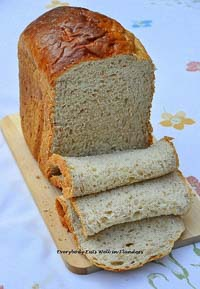 Soft Fluffy Hokkaido Tangzhong Wholemeal Bread