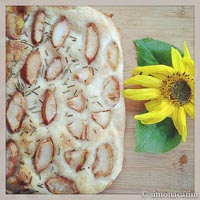 Pear And Rosemary Focaccia