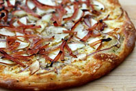 Apple And Ham Pizza