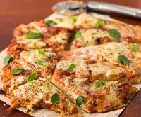 100% Whole Wheat Margherita Pizza