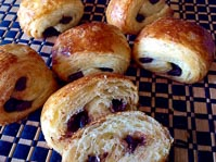 Morello Cherry & Kirsch Pains Au Chocolat