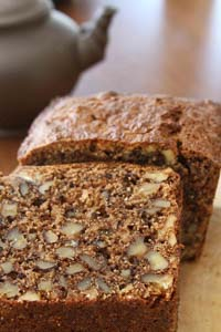Apple Walnut Tea Cake With 100% Spelt