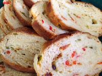 Colorful Pizza Bread
