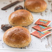 Date And Chai Soft Rolls