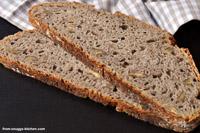 Bread From 3 Varieties Spelt And Walnuts