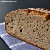 Bread With All Sorts Of Spelt
