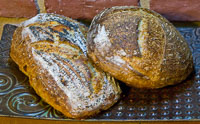 Sprouted WW Porridge Cheese Bread