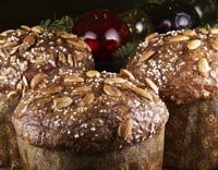 Panettone with Citrus, Chocolate and Ginger