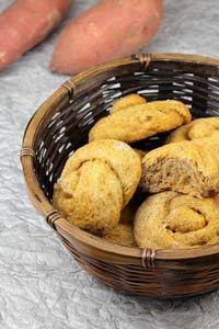 Ragi-Sweet Potato Sourdough Rolls