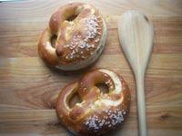Laugenbrezeln (soft pretzels)