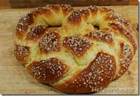 New Year's pretzel