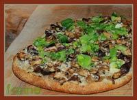 Shiitake Mushroom & Leek Foccacia