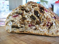 Slightly Soused Seeded Sourdough