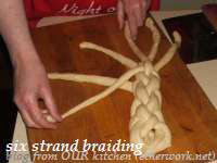 six strand braid