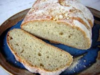 Rolled Oat and Apple Bread