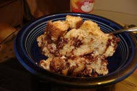 Gluten-free Chocolate Chip Bread Pudding