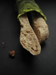 Wholemeal pita bread
