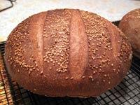 Horiatiko Psomi (Greek Country Bread)