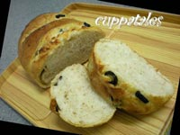 Feta Cheese and Black Olive Loaf