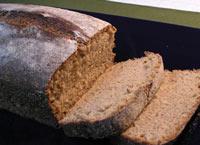 Sourdough Whole-Wheat No Knead Bread