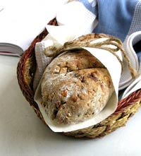 Dried Cranberry & Walnut  Bread