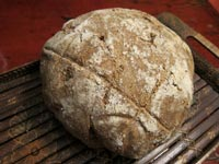 Poilane-style Miche or Pain Poilane