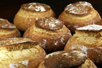 Sourdough Corn Bread Bowls