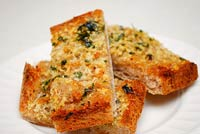 Poolish Baguette: Herbed Garlic Bread