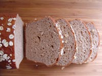 Oatmeal Honey Wheat Bread