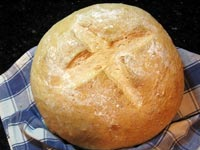 Hungarian Potato Bread with Caraway Seeds