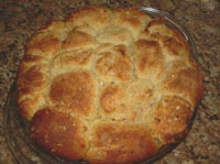 French Asiago Bubble Bread