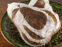 Pear Buckwheat Bread