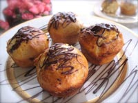 White Chocolate Brioche with Dark Chocolate