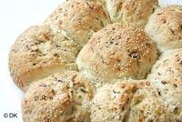 Zucchini /Courgette Crown Bread