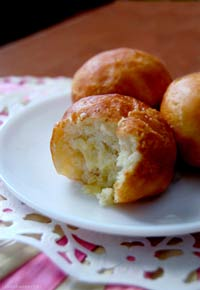 custard-filled beignets
