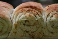 Pesto and Garlic Bread